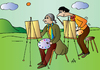 Cartoon: Plagiat Artist (small) by Alexei Talimonov tagged plagiat,artist