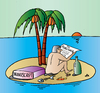 Cartoon: publisher island (small) by Alexei Talimonov tagged publisher,books,island