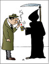 Cartoon: Smoke (small) by Alexei Talimonov tagged smoke,cigarettes