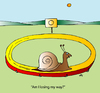 Cartoon: Snail (small) by Alexei Talimonov tagged snails