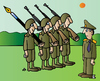 Cartoon: Soldiers (small) by Alexei Talimonov tagged soldiers