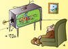 Cartoon: TV (small) by Alexei Talimonov tagged tv