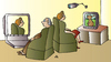 Cartoon: TV and Videocamera (small) by Alexei Talimonov tagged tv,videocamera