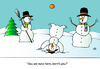 Cartoon: Winter (small) by Alexei Talimonov tagged winter,snow