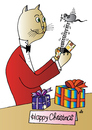 Cartoon: Xmas Present (small) by Alexei Talimonov tagged xmas christmas