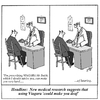 Cartoon: Viagara (small) by thegaffer tagged medicine,doctors,viagara