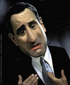 Cartoon: Robert De Niro Caricature (small) by GRamirez tagged robert,de,niro,caricature,caricatura,guillermo,ramirez