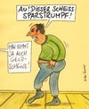 Cartoon: sparstrumpf (small) by Peter Thulke tagged sparen,geld