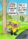 Cartoon: urlaub (small) by Peter Thulke tagged urlaub,auto