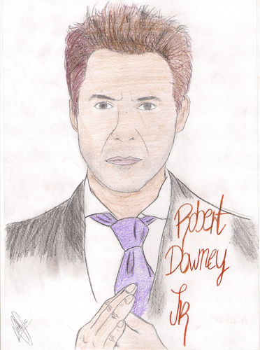 Cartoon: Robert Downey Jr (medium) by apestososa tagged robert,downey,jr,ironman