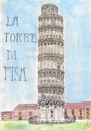 Cartoon: La Torre Di Pisa (small) by apestososa tagged torre pisa tower italia