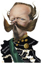 Cartoon: Vittorio Emanuele II (small) by achille tagged king,re,vittorio,emanuele