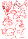 Cartoon: Sketchbook (small) by Cartoons and Illustrations by Jim McDermott tagged sketchbook