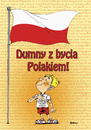 Cartoon: Proud to be polish (small) by sebtahu4 tagged polish,patriotic