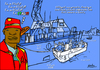 Cartoon: In Italy (small) by Political Comics tagged italy,rich,lampedusa,mediterraneo