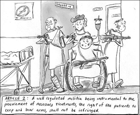 Cartoon: Patients Bill of Rights (medium) by sstossel tagged hospital,health,patients,bill,of,rights,treatment,