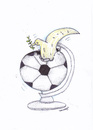 Cartoon: Football World Cup 2014 (small) by Raquel tagged football,world,cup,2014