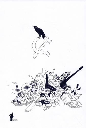 Cartoon: or destruction of socialism or (medium) by adimizi tagged cizim,or