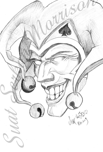 The gallery for --> Gangster Joker Drawings