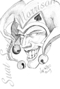Cartoon: joker (small) by Suat Serkan Celmeli tagged joker