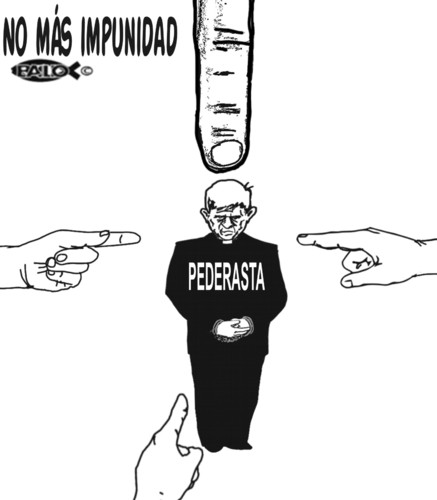 Cartoon: No mas impunidad (medium) by Empapelador tagged abuso,infantil