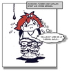 Cartoon: Queenies kleine Welt (small) by Queenie tagged queenie,griechenland,eu,pleite,rettung