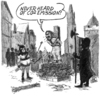 Cartoon: CO2 emission (small) by jean gouders cartoons tagged co2,emission,climate,change,jean,gouders