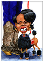 Cartoon: condoleeza    RIce (small) by jean gouders cartoons tagged foreign,affairs,jean,gouders