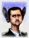 Cartoon: Its time to say good bye Bashar (small) by Alf Miron tagged bashar,assad,syria,protest,dictator,shoes,arab,spring,jasmine,revolution