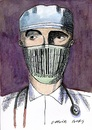 Cartoon: Doctors and patients 02 (small) by Otilia Bors tagged otilia,bors