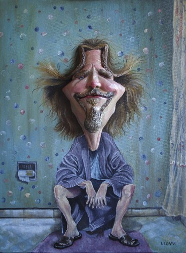 Jeff Bridges. Cartoon: Jeff Bridges (medium)