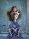 Cartoon: Jeff Bridges (small) by lloyy tagged jeff bridges movie the big lebowski actor famous people