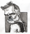 Cartoon: sketch...? (small) by lloyy tagged caricature,caricatura