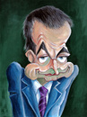 Cartoon: Zapatero (small) by lloyy tagged president,spain,politics,caricature,famous,people