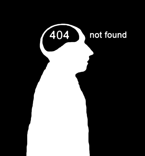 Cartoon: error 404 (medium) by Hentamten tagged 404,not,found
