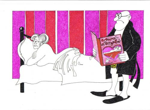 Cartoon: gebrauchsanweisung (medium) by ruditoons tagged buch,
