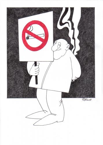 Cartoon: stop smoking (medium) by ruditoons tagged rauchverbot,