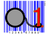 Cartoon: Digital Prison (small) by srba tagged barcode,one,zero,digital,numbers