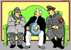 Cartoon: New World Order (small) by srba tagged world,masters