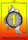 Cartoon: Wheel of Fortune (small) by srba tagged tarot,cards,money