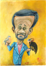 Cartoon: Ahmadinejad (small) by dimaz_restivo tagged international,political