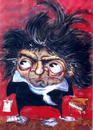 Cartoon: Beethoven (small) by dimaz_restivo tagged beethoven