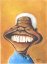 Cartoon: Nelson Mandela (small) by dimaz_restivo tagged mandela nelson