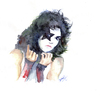 Cartoon: PAUL STANLEY (small) by dimaz_restivo tagged paul,stanley,kiss