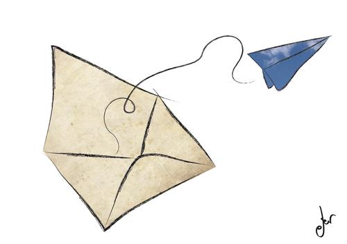 mail by antruejo media amp culture cartoon toonpool