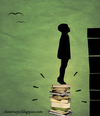 Cartoon: muro 2 (small) by ANTRUEJO tagged cultura,educacion,education,books,libros,el,antruejo,wall