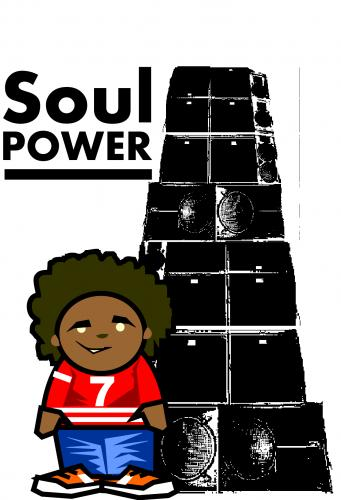 Cartoon: soul power (medium) by markcrossey tagged funk,soul,brother