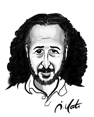 Cartoon: mehmet duru (medium) by ilker yati tagged mehmet,duru