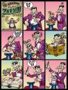 Cartoon: The Return of the Mutant Rabbits (small) by thopman tagged comic,strip,cartoon,magic,humor,pantomime,