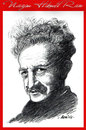 Cartoon: nazim hikmet (small) by aceratur tagged nazim,hikmet